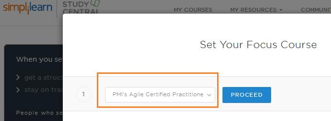 pmi acp focus course