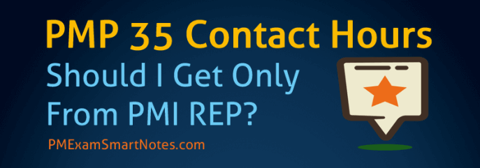 PMP 35 Contact Hours