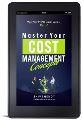 Master Your Cost Management Concepts kindle free pmp book