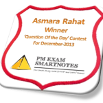 'Question Of The Day' Winner for December-2013