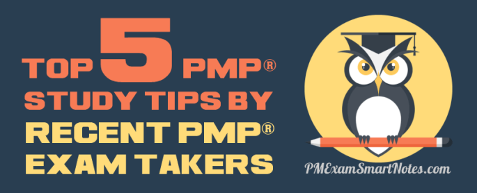 Top 5 PMP Study Tips