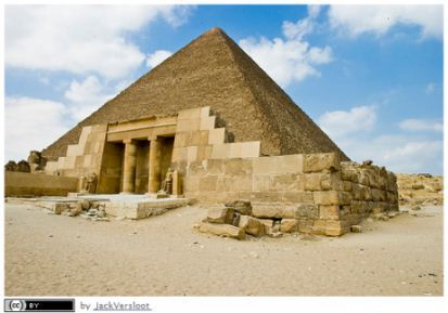 Earliest example of a Project - Pyramid of Giza
