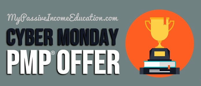 cyber monday pmp offer 2017