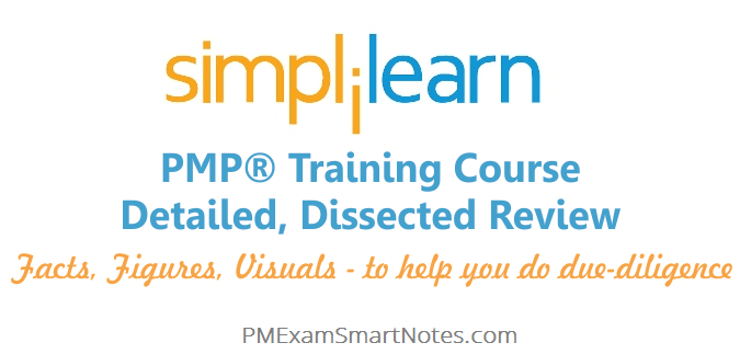 jgd simplilearn pmp course review