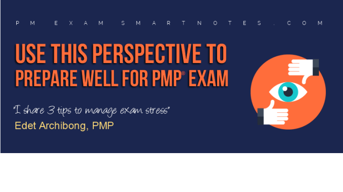 manage pmp exam stress edet