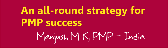 An all round pmp exam preparation plan by manjush m k pmp manjush pmp exam preparation plan fandeluxe Image collections