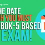 PMBOK 6th Edition Based PMP® Exam Date Is Announced By PMI!