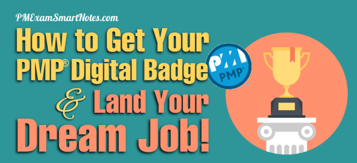 how to get pmp digital badge and land your dream job