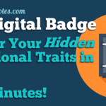 PMP Digital Badge: How to Claim & Flaunt It, PLUS Discover Your Hidden Professional Traits in 15 Minutes