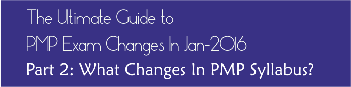 pmp exam changes guide