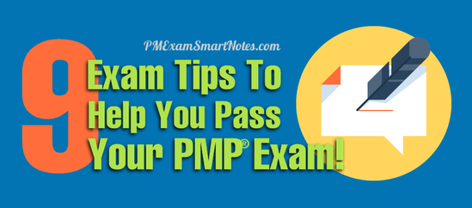 What To Do On Your Pmp Exam Day 9 Tips To Help You Pass