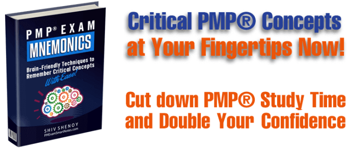 PMP Exam Mnemonics - New Book is Out Now! -