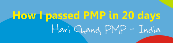 passing pmp in 20 days hari chand