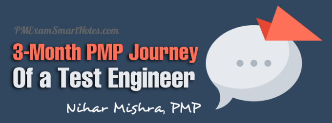 pmp journey qa test engineer nihar