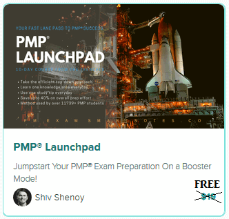 free PMP training course: PMP launchpad