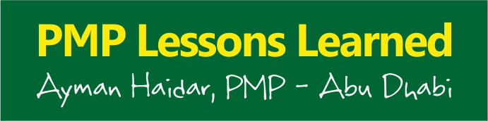 pmp-lessons-learned-ayman-haidar