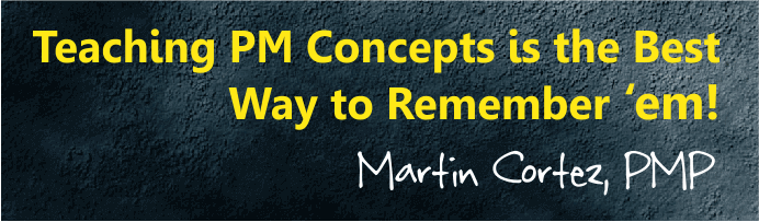 pmp lessons learned martin cortez pmp