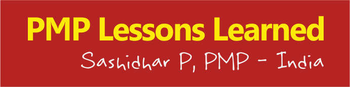 pmp-lessons-learned-sashidhar-p