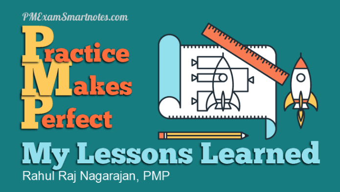 pmp lessons learned rahul