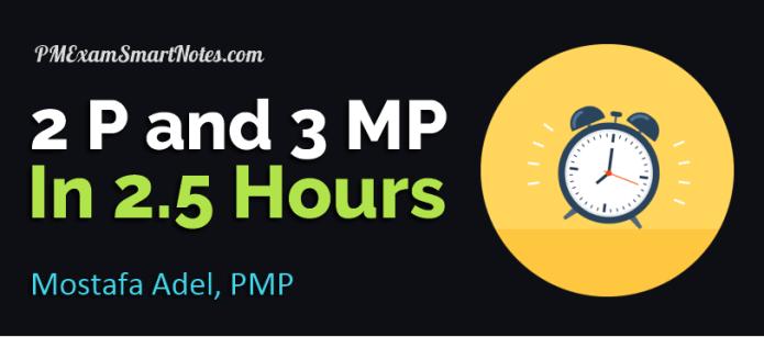 pmp prep experience