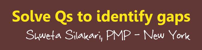 pmp sample questions shweta silakari