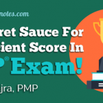 My Secret Sauce of Getting Perfect 5 Proficient Score in PMP Test: Anurag Kajra, PMP
