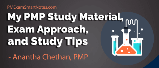 pmp study material anantha chethan