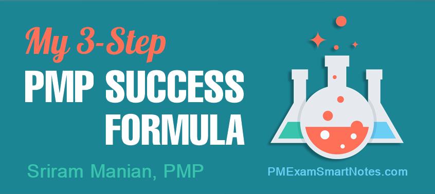 pmp success formula sriram manian