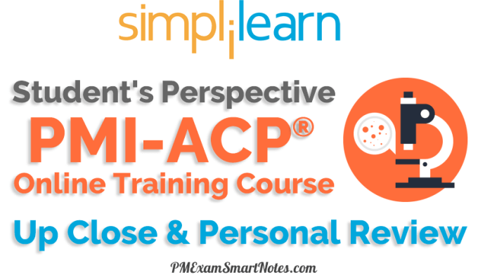 simplilearn pmi acp online training review